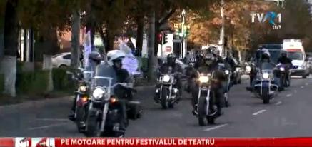 Parada noastra moto și flash mob-ul din Parcul Crang, din 24 septembrie, au ajuns la TVR!